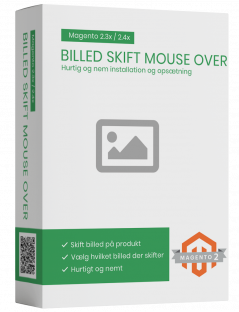 Magento2 billed skift mouse over