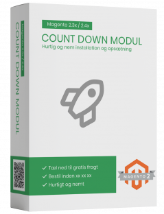 Magento2 Count Down modul