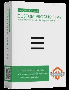 Magento2 custom product tab