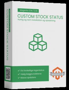 Custom stock status Magento2