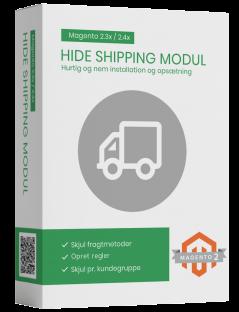 Magento2 hide shipping