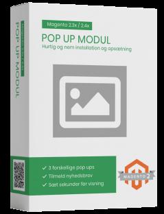 Magento2 pop up modul