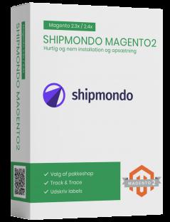 Shipmondo Magento2 fragtmodul