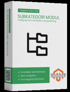 Magento2 subcategory billeder eller tekstbokse