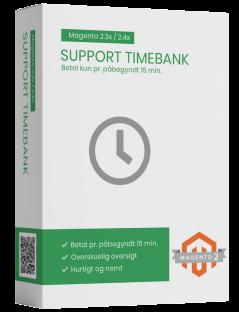 Magento2 Support timebank